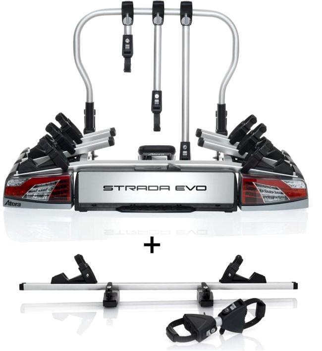 Nosič bicyklov Atera Strada Evo 3 + adaptér