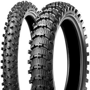 Moto pneu80 / 100 - 21 51M TT Dunlop GEOMAX MX11