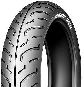 Moto pneu120 / 80 - 16 60P TL Dunlop D451